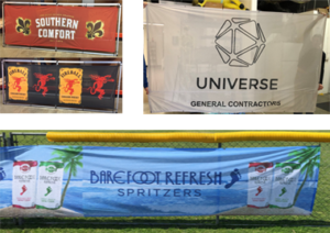 Fene wrap, Sign, Mesh Signs, Promotional Sign