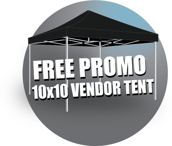 Free, Promotions, 10x10, Tent, Backwall, famous